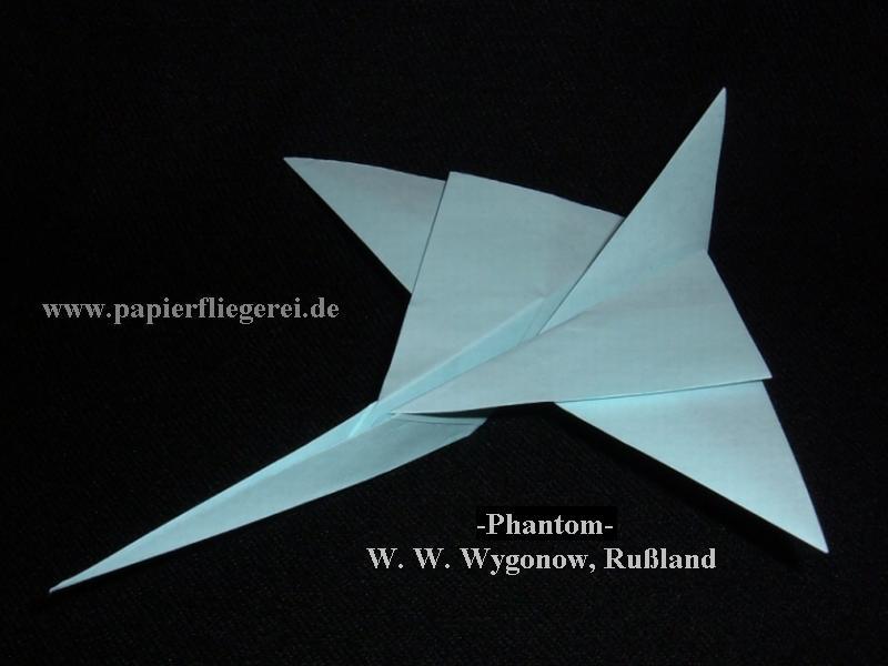 Origami F 15 Jet