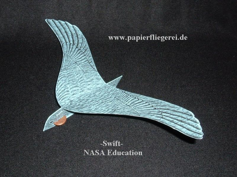 Papierflieger, Swift-USA